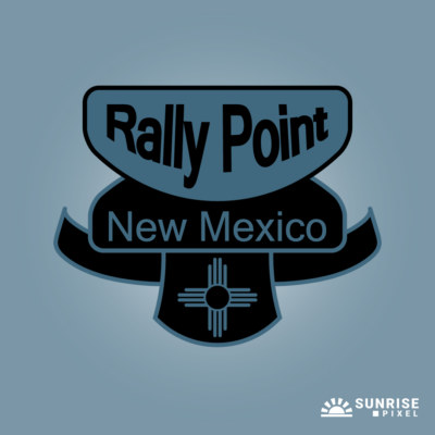 Rally Point New Mexico Logo Design