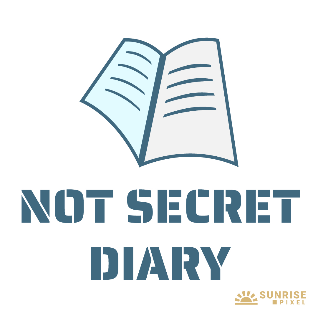 Erika's Not Secret Diary Logo Design