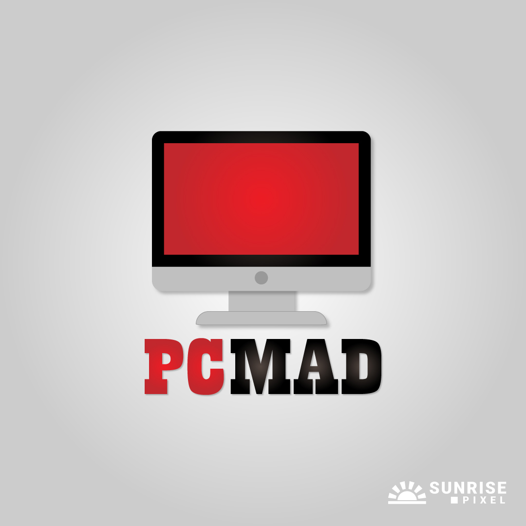 PC Mad Logo Design