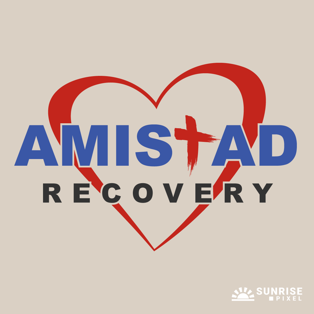 Amistad Recovery Logo Design